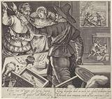 Card-players Fighting with Weapons Drawn