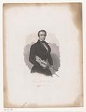 Portrait of the violinist Ole Bornemann Bull