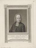 Portrait of Joannes van de Velde