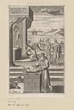 Arsidas worships Fortuna