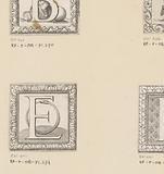 Letter E with ouroboros