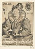 Portrait of Elizabeth I Tudor, half-length