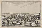 Spanish foot people departing from Gennep