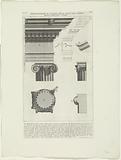Details of the Temple of Portunus in Rome