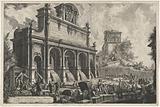 Fontana dell'Acqua Paola in Rome