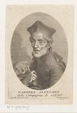 Portrait of cleric Andrea Alcenago