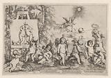 Allegory with putti