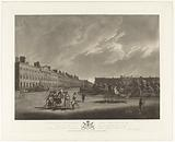 View of Grosvenor Square in London