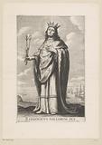 Portrait of Louis IX the Holy