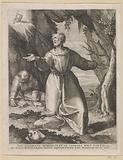 Francis of Assisi receives the stigmata