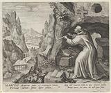 Saint Martius of Auvergne as a hermit