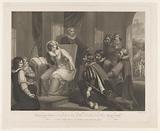Queen Elizabeth receives news of the death of Queen Maria