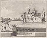 View of Duurstede castle in Wijk bij Duurstede
