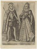 Double portrait of Albrecht, Archduke of Austria and Isabella of Spain