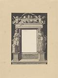Allegorical performance with Fides and Succession