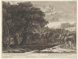 Venus and Adonis on the hunt