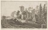 Farmhouse outside the Porta del Popolo