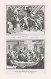 Samson's death / The Benjaminites chess the women from Shiloh
