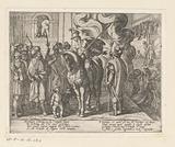 Illustration to Canto II of Tasso's 'Gerusalemme Liberata'