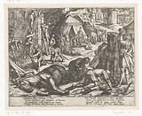 Illustration to Canto XIII of Tasso's 'Gerusalemme Liberata'