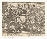 Illustration to Canto XX of Tasso's 'Gerusalemme Liberata'