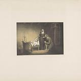 Nun and man with deceased boy