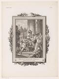 Philokles is welcomed by Idomeneus