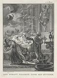 God punishes Solomon with thunder