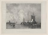 Harbor with boats