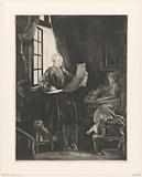 Self-portrait of Claude-Henri Watelet as Jan Six