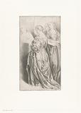 Four standing women