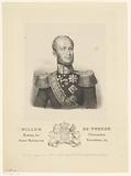 Portrait of King Willem II