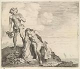 Bacchus finds Ariadne on Naxos