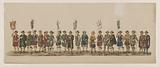 Fifth group in the Delft procession of 1862