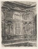 Courtyard of the Palazzo Marino in Milan