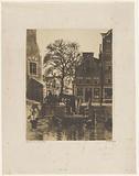Overhaul at the Montelbaanstoren in Amsterdam