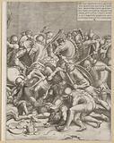 Battle of the Milvian Bridge (right page)