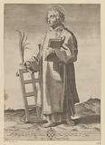 Saint Laurentius with grate