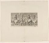 Frisian with triumph by Quintus Fabius Maximus on fireplace in the Mayor's room of the Town Hall on Dam Square …
