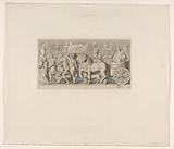 Frisian with triumph by Quintus Fabius Maximus on fireplace in Mayor's room of the Town Hall on Dam Square (fifth part)
