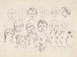Studies of faces