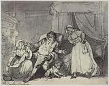 Thomas Rowlandson, The Drunken Husband