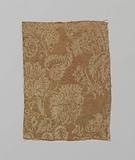 Silk satin fragment