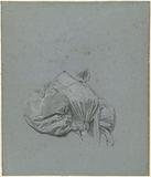 Drapery study of an unknown woman