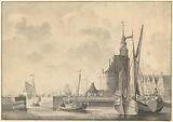 The harbor in Hoorn