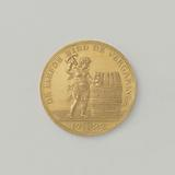 Taking twelve guild tests, medal struck on the order of blankets and deems of the cooperative guild of Dordrecht