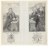 Portraits of Lieven Jacobsz de Huybert, his wife Catharina Imansdr. Van Zuidland and their three daughters.