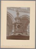 Crowning of the pulpit in the Nieuwe Kerk in Amsterdam