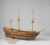 Model of a 74–Gun Ship of the Line