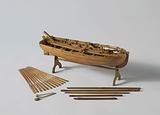 Model of an Armed Longboat
